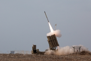 A battery of the Iron Dome missile defense system. (Image source: IDF)